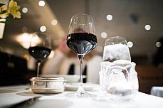 red wine luxury restaurant